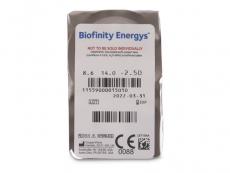 Biofinity Energys (6 Linsen)