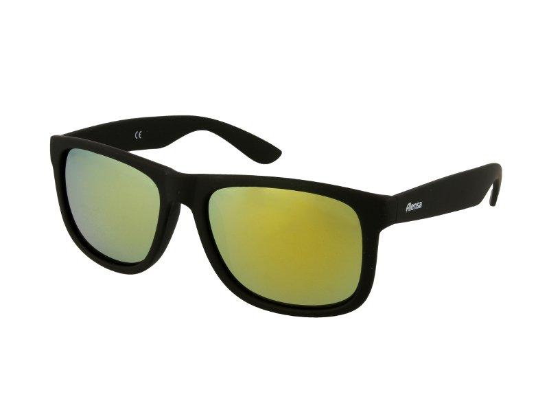 Sonnenbrille Alensa Sport Black Gold Mirror