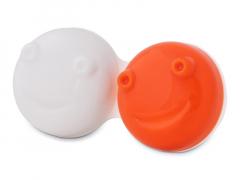 Ersatzgehäuse für vibrierenden Linsen-Behälter - braun