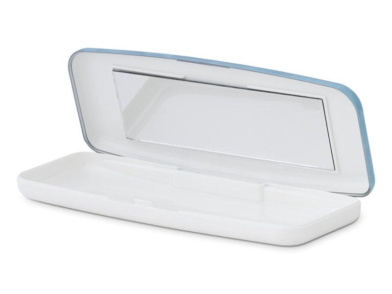 Fester Behälter für Tageslinsen - blau