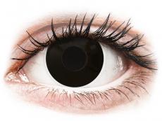 ColourVUE Crazy Lens - BlackOut - ohne Stärke (2 Linsen)
