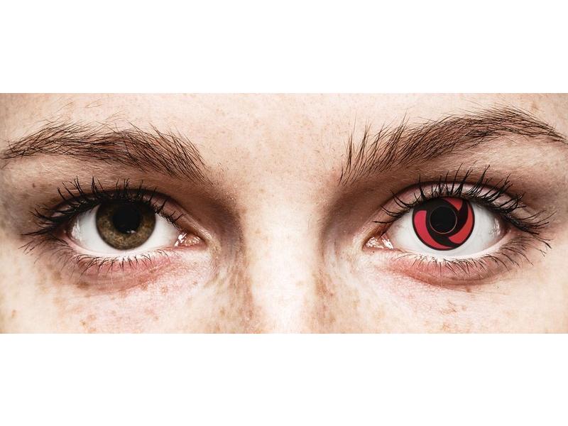 ColourVUE Crazy Lens - Mangekyu - ohne Stärke (2 Linsen)