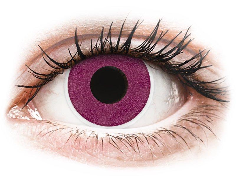 ColourVUE Crazy Lens - Purple - ohne Stärke (2 Linsen)