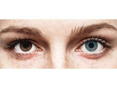 ColourVUE Crazy Lens - Solar Blue - ohne Stärke (2 Linsen)