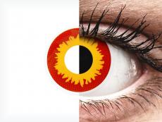 ColourVUE Crazy Lens - Wildfire - ohne Stärke (2 Linsen)