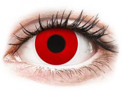 ColourVUE Crazy Lens - Red Devil - mit Stärke (2 Linsen)