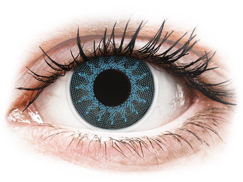 ColourVUE Crazy Lens - Solar Blue - mit Stärke (2 Linsen)