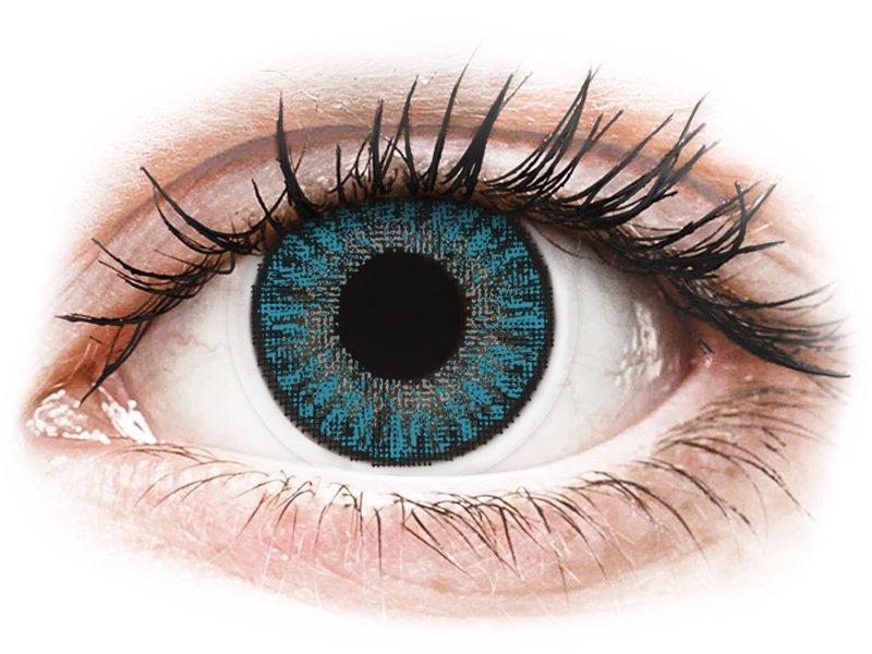 TopVue Color Tageslinsen - Blue - mit Stärke (10Linsen)