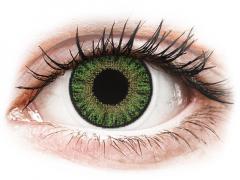 TopVue Color Tageslinsen - Green - mit Stärke (10Linsen)