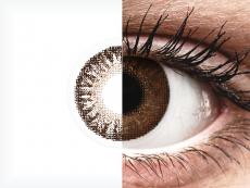 TopVue Color - Brown - mit Stärke (2Linsen)