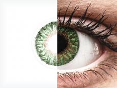 TopVue Color - Green - mit Stärke (2Linsen)