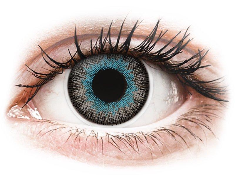 ColourVUE Fusion Blue Gray - mit Stärke (2Linsen)