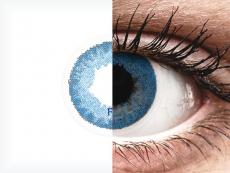 FreshLook Dimensions Pacific Blue - mit Stärke (6 Linsen)