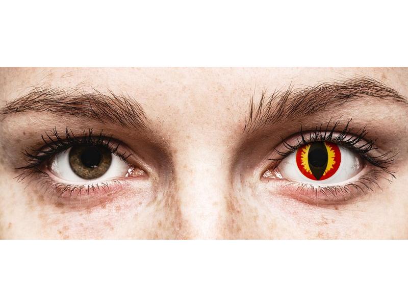 ColourVUE Crazy Lens - Dragon Eyes - Tageslinsen ohne Stärke (2 Linsen)