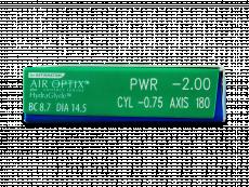 Air Optix plus HydraGlyde for Astigmatism (3 Linsen)