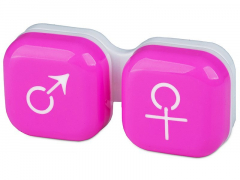 Behälter man&woman - rosa