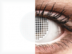 ColourVUE Crazy Lens - White Screen - ohne Stärke (2 Linsen)