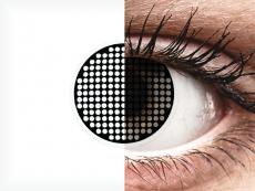 ColourVUE Crazy Lens - Black Screen - ohne Stärke (2 Linsen)