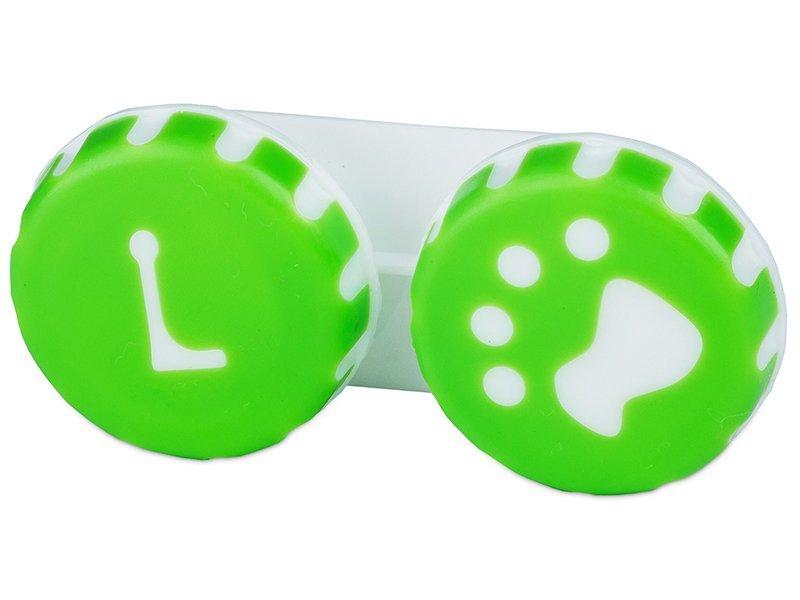 Behälter Pfote grün