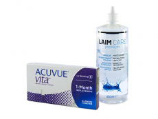 Acuvue Vita (6 Linsen) + Laim-Care 400 ml