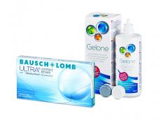 Bausch + Lomb ULTRA (3 Linsen) + Gelone 360 ml