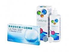 Bausch + Lomb ULTRA (6 Linsen) + Gelone 360 ml