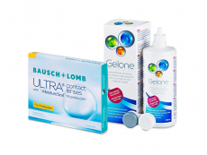 Bausch + Lomb ULTRA for Presbyopia (3 Linsen) + Gelone 360 ml