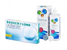 Bausch + Lomb ULTRA for Presbyopia (6 Linsen) + Gelone 360 ml