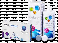 Biofinity Energys (6 Linsen) + Gelone 360 ml