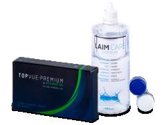 TopVue Premium for Astigmatism (3 Linsen) +Laim-Care 400ml