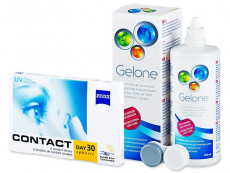 Carl Zeiss Contact Day 30 Spheric (6 Linsen) +Gelone 360ml