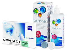 Carl Zeiss Contact Day 30 Compatic (6 Linsen) +Gelone 360ml