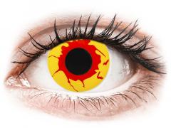 ColourVUE Crazy Lens - Reignfire - Tageslinsen ohne Stärke (2Linsen)