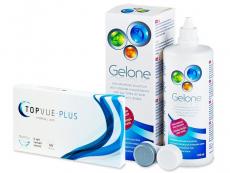 TopVue Plus (6 Linsen) + Gelone 360 ml