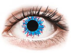 CRAZY LENS - Harlequin - Tageslinsen mit Stärke (2 Linsen)