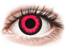 CRAZY LENS - Vampire Queen - Tageslinsen mit Stärke (2 Linsen)