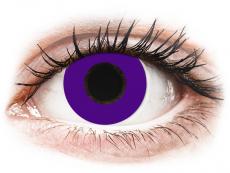 CRAZY LENS - Solid Violet - Tageslinsen ohne Stärke (2 Linsen)