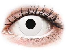 CRAZY LENS - WhiteOut - Tageslinsen mit Stärke (2 Linsen)