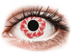 CRAZY LENS - Atom Bomb - Tageslinsen ohne Stärke (2 Linsen)