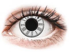 CRAZY LENS - Clock - Tageslinsen ohne Stärke (2 Linsen)
