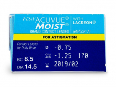 1 Day Acuvue Moist for Astigmatism (30 Linsen)